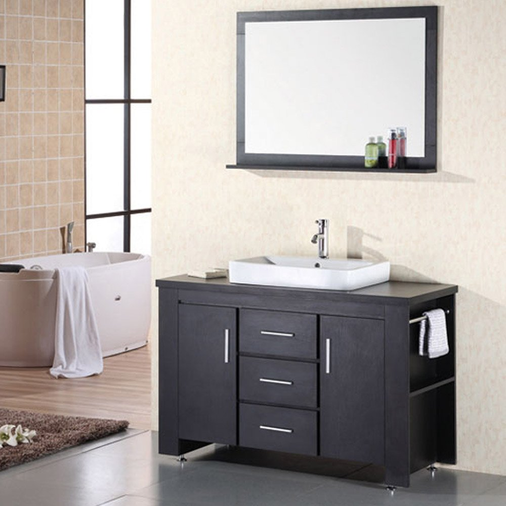home bath bathroom vanities weston 48 single sink vanity set