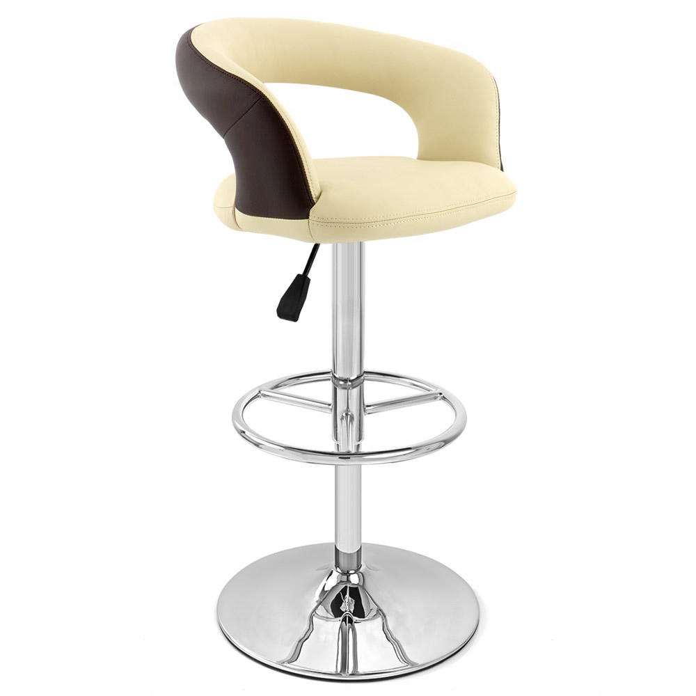 Cream Seat with Brown Back Monza Bar Stool Zuri Furniture : monzaadjustablebarstoolcreaminbrownout1 from www.zurifurniture.com size 1000 x 1000 jpeg 54kB