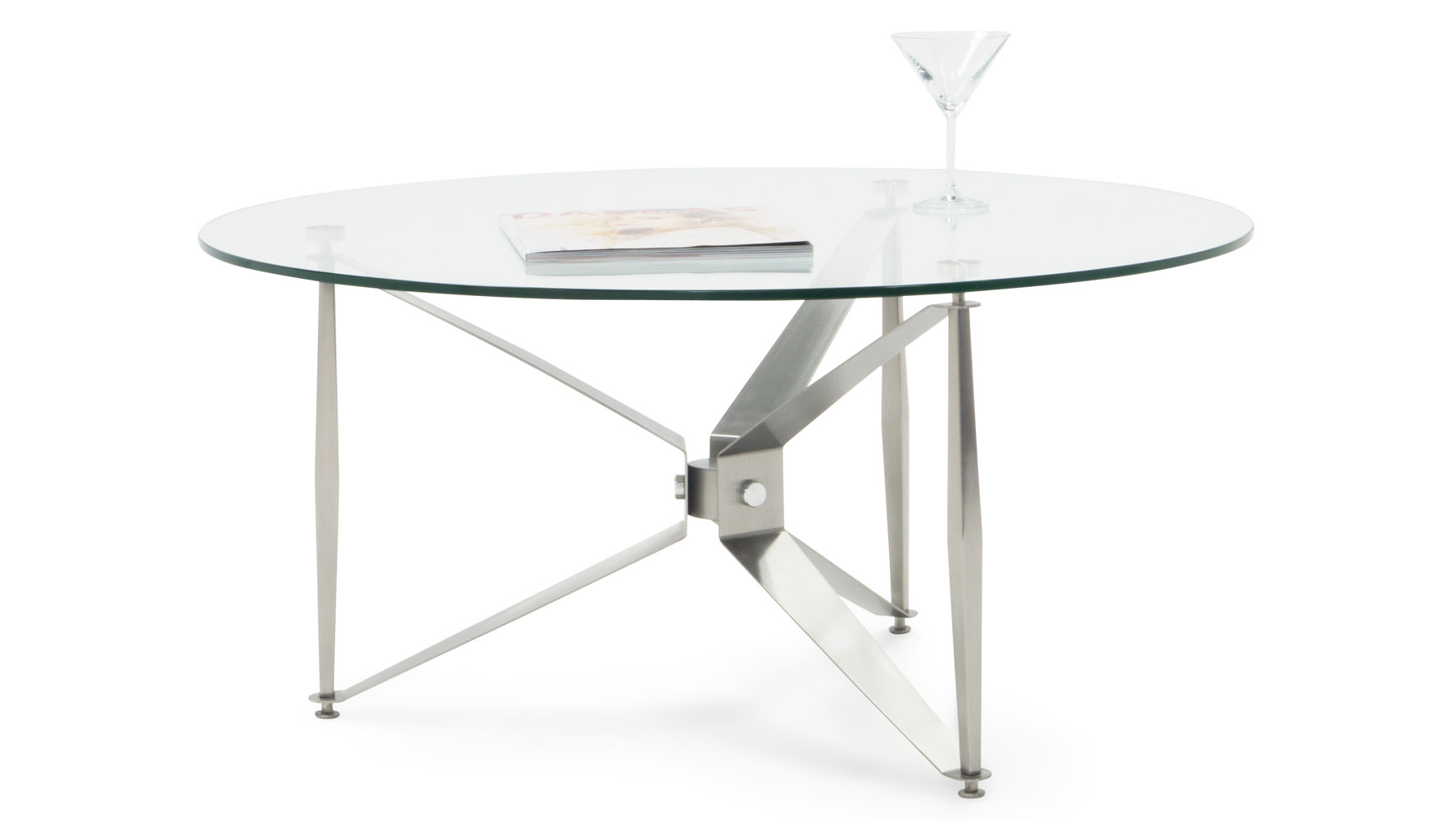 Nikki Stainless Steel Coffee Table Zuri Furniture
