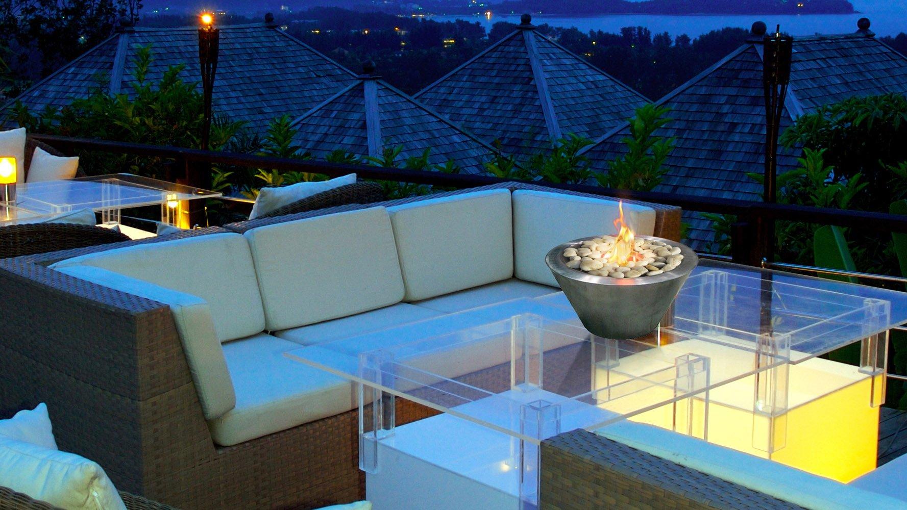 Oasis Fireplace Zuri Furniture