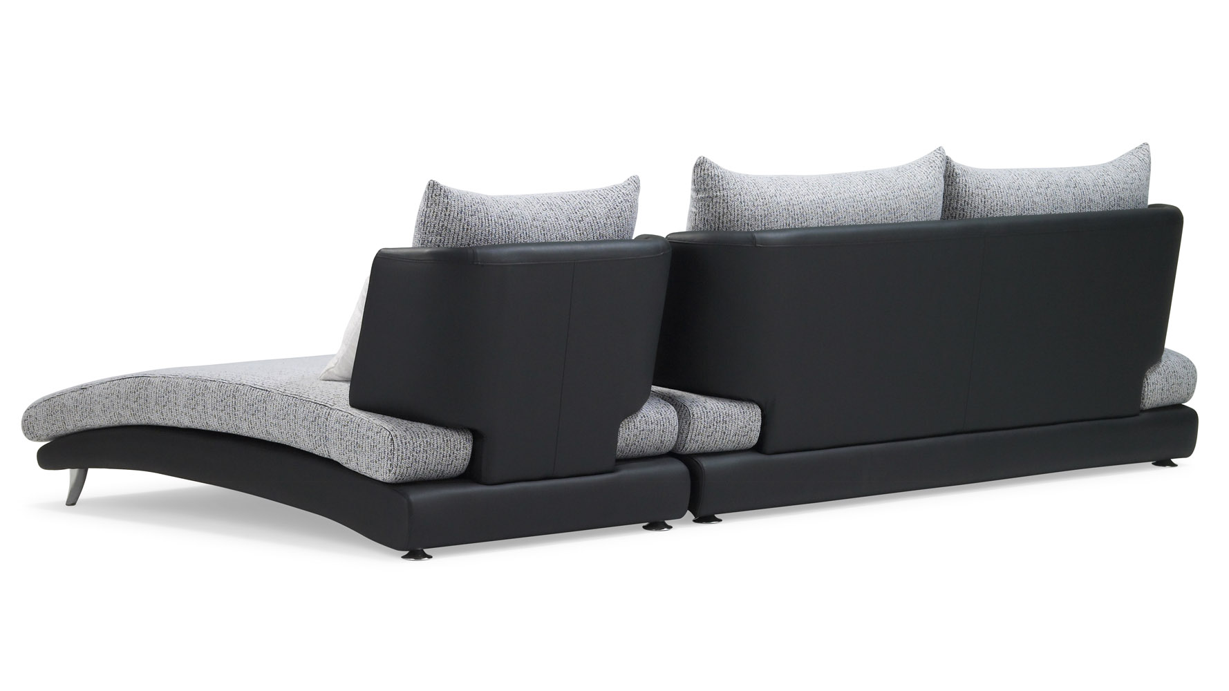 Modern Sofa Chaise Sof... Modern Sofa With Chaise Lounge