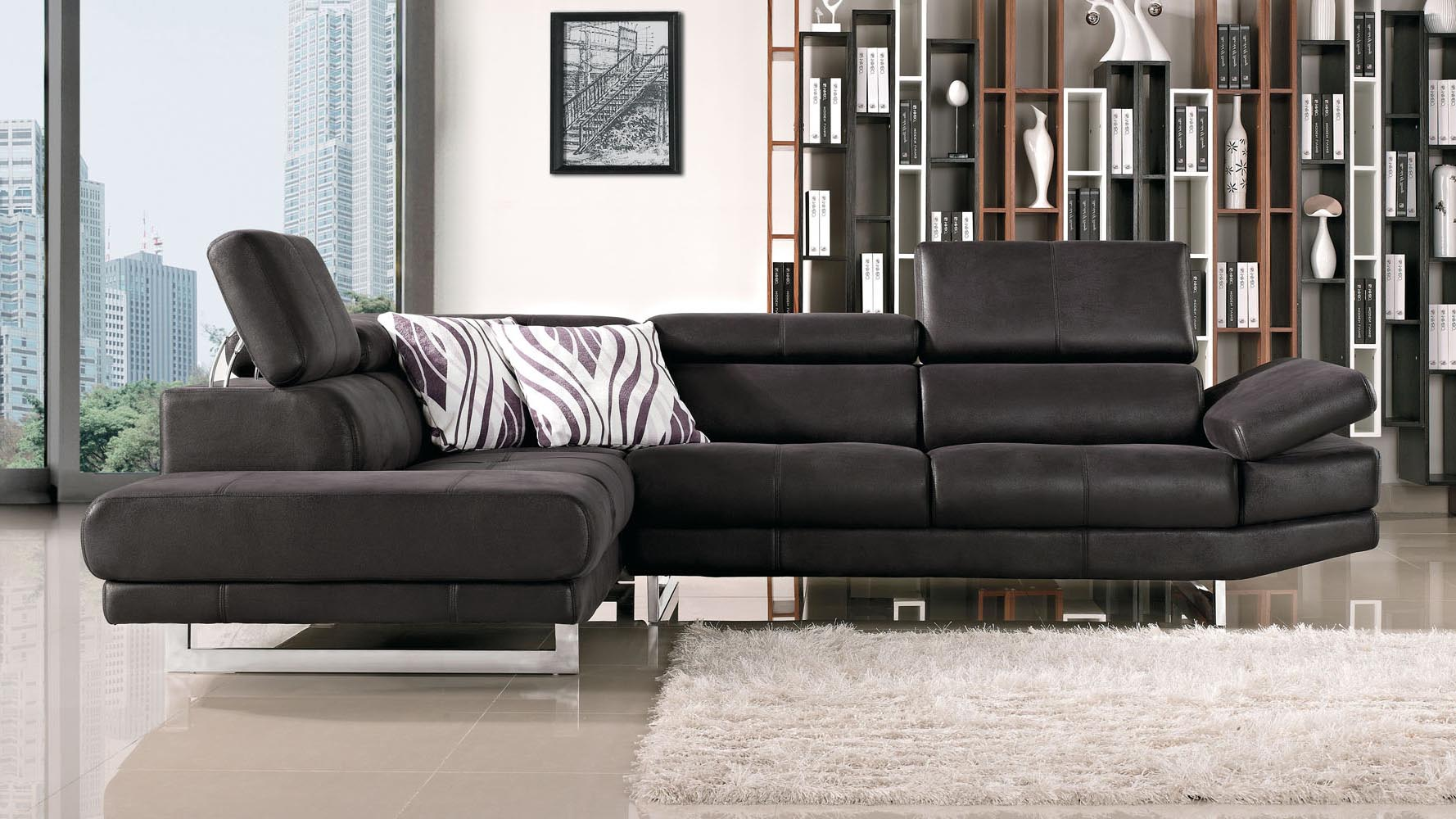 Paulo Sectional : suede sectional sofas - Sectionals, Sofas & Couches
