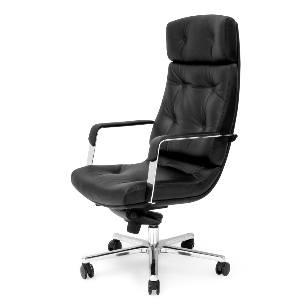 Outstanding Perot Leather Executive Chair Machost Co Dining Chair Design Ideas Machostcouk