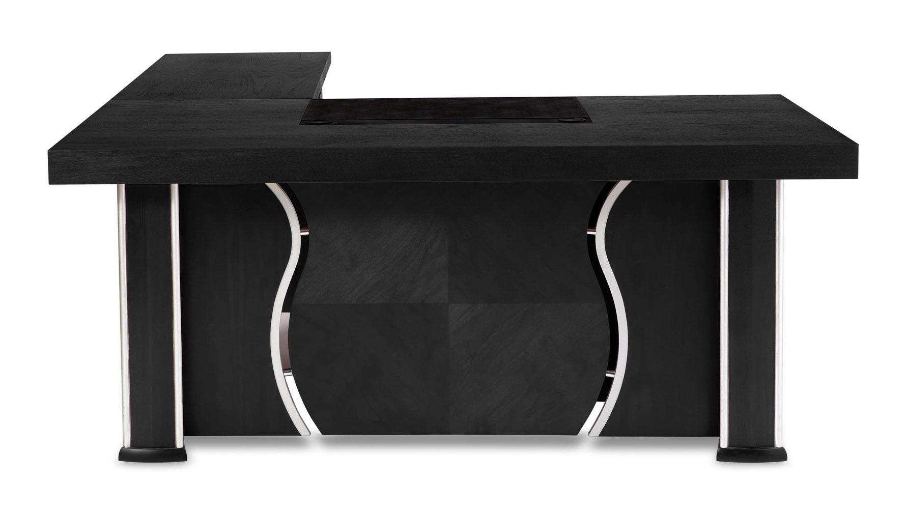 Pierce Desk Black Oak