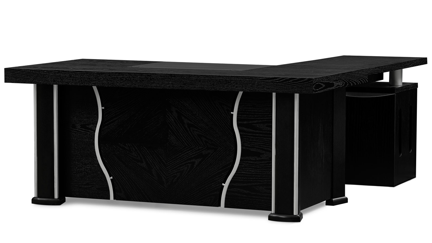 Pierce Desk Black