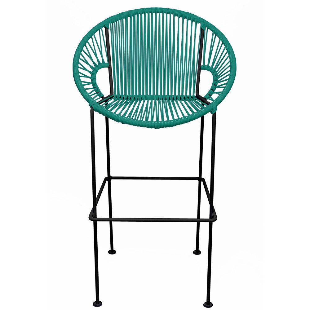 Marvelous Puerto Bar Stool Black Frame Unemploymentrelief Wooden Chair Designs For Living Room Unemploymentrelieforg