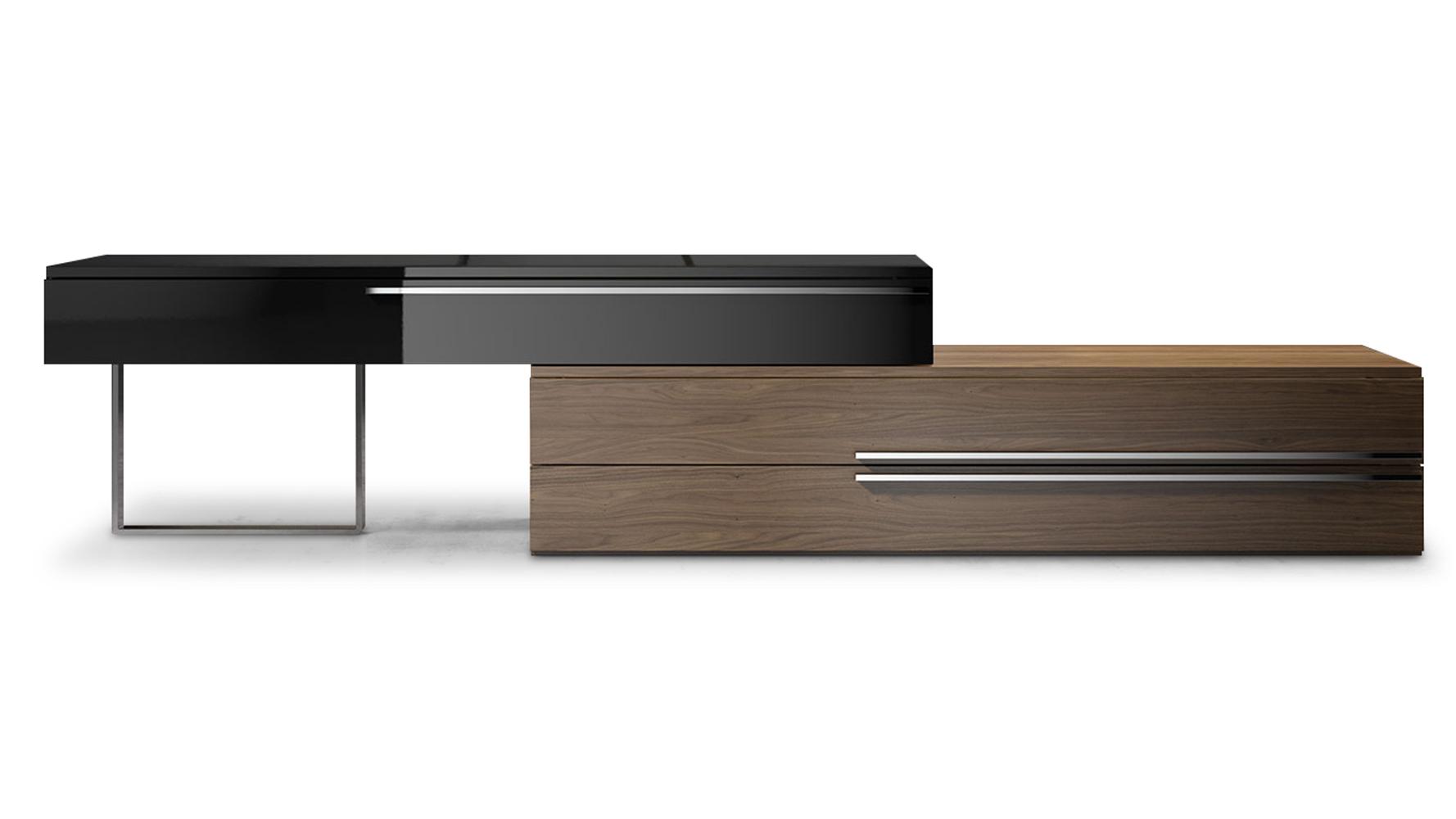 Dark Wood Tv Credenza : Tv consoles media credenzas room furniture