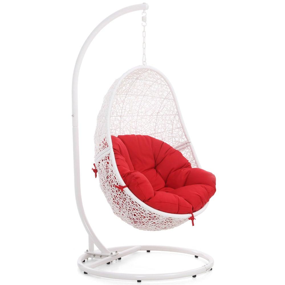 Reef Swing Chair White Zuri Furniture
