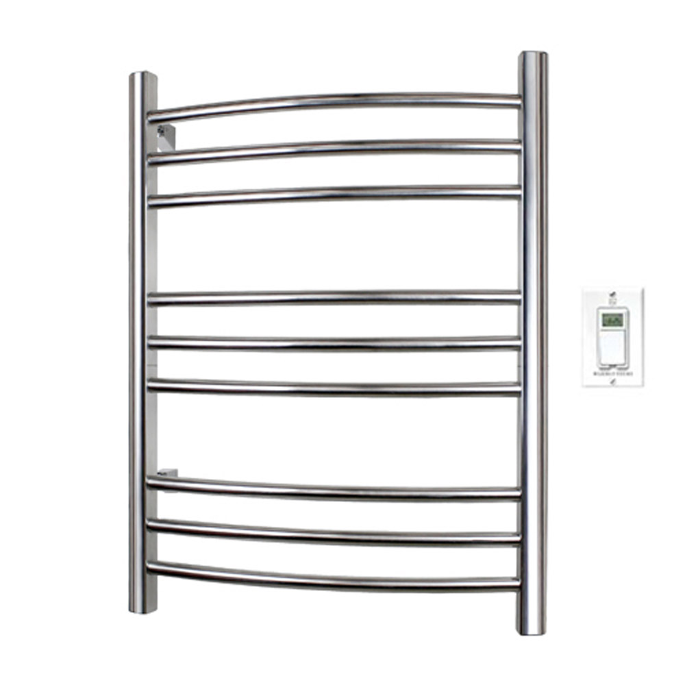 Riviera Towel Warmer - Brushed Stainless Steel