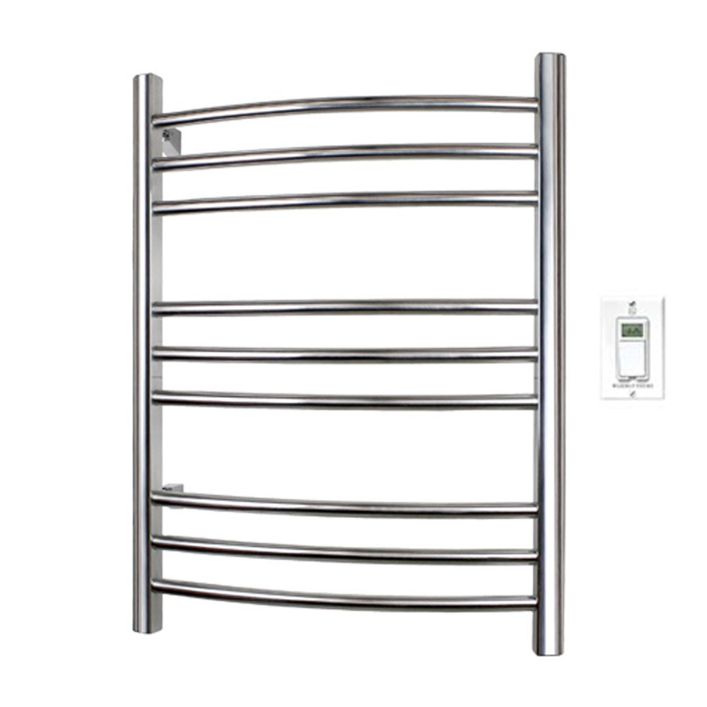 Riviera Towel Warmer - Polished Stainless Steel