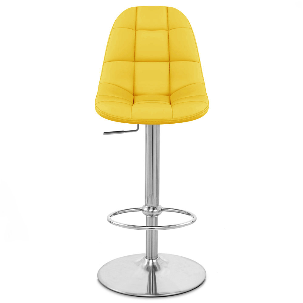 Rochelle Adjustable Height Swivel Armless Bar Stool Zuri