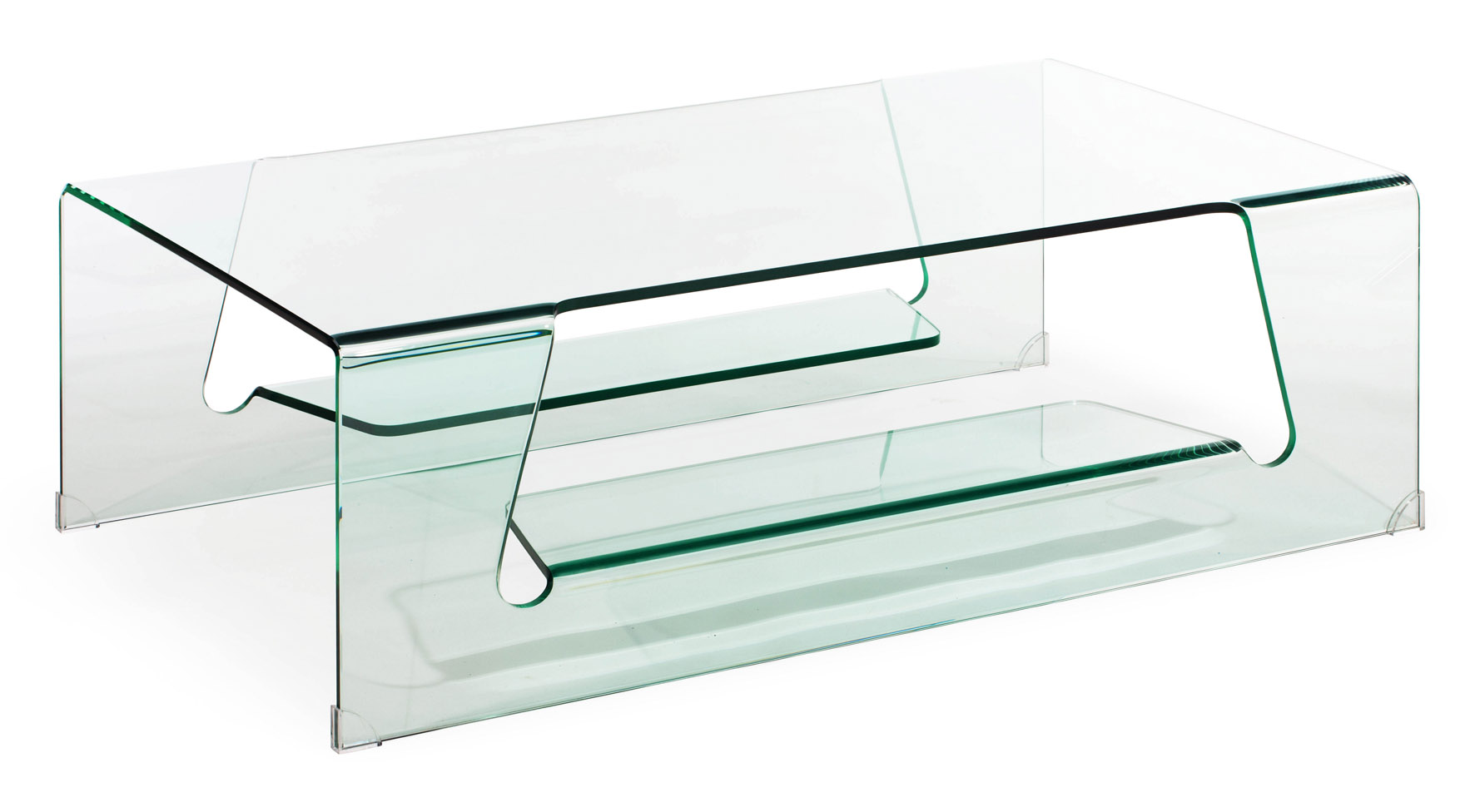Rocky tempered glass coffee table clear glass zuri for Tempered glass coffee table