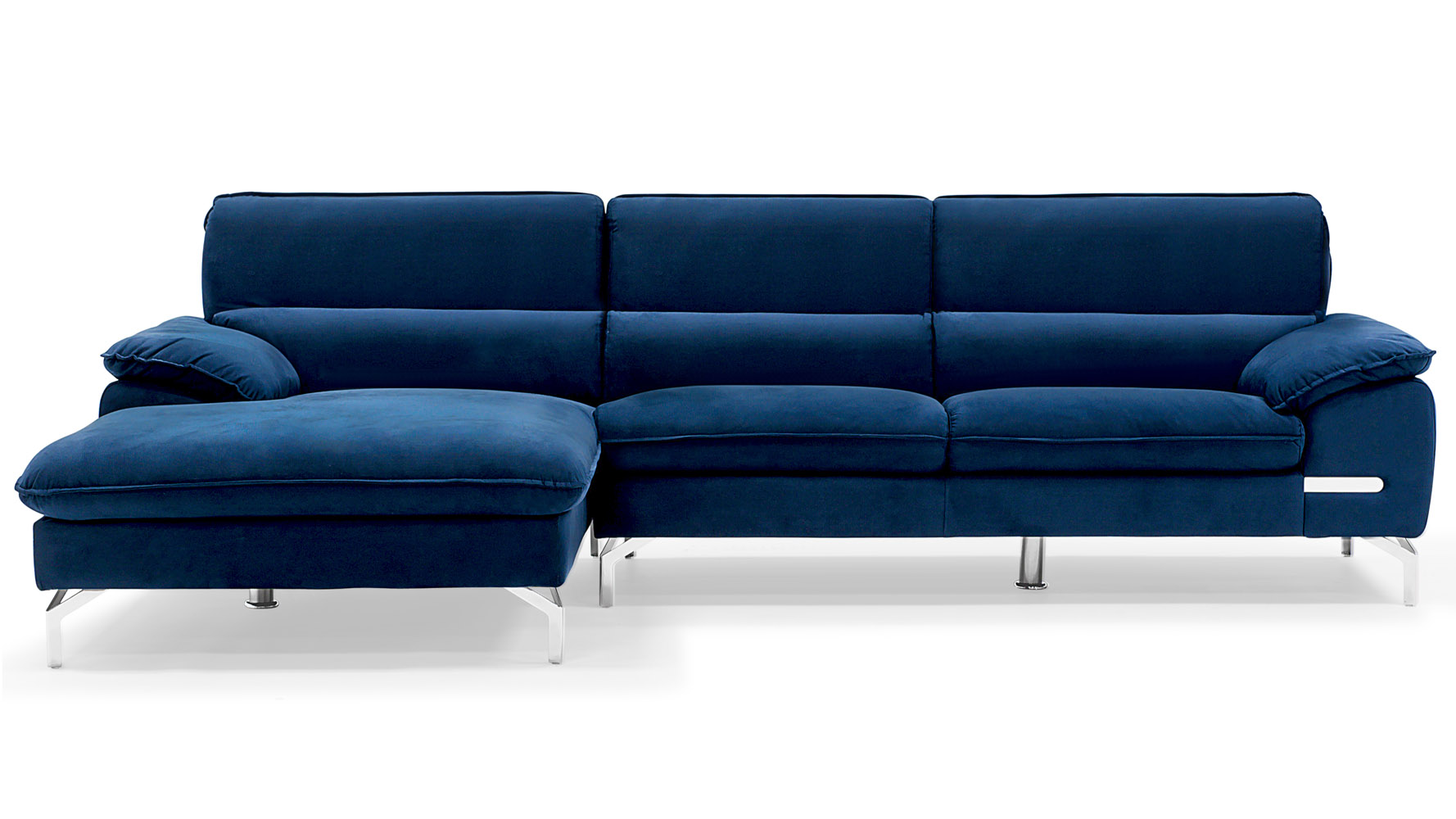 Blue sectional sofa with chaise beautiful blue sectional for Blue sectional sofa with chaise