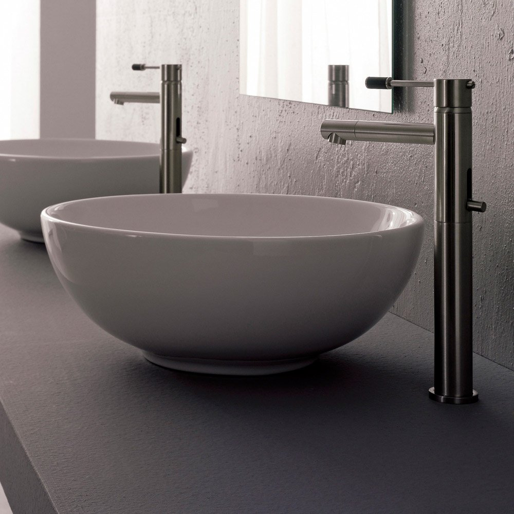 sfera vessel sink zuri furniture. Black Bedroom Furniture Sets. Home Design Ideas