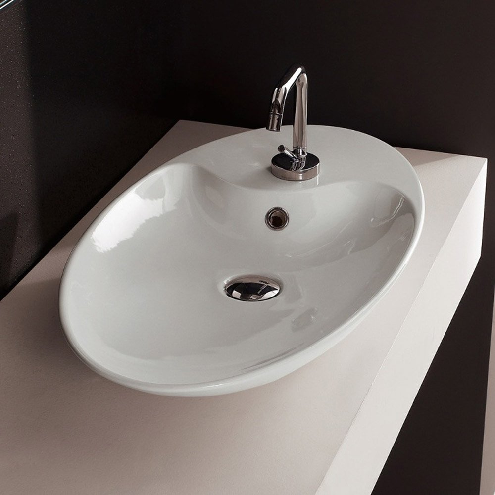 Shape Oval Sink Zuri Furniture