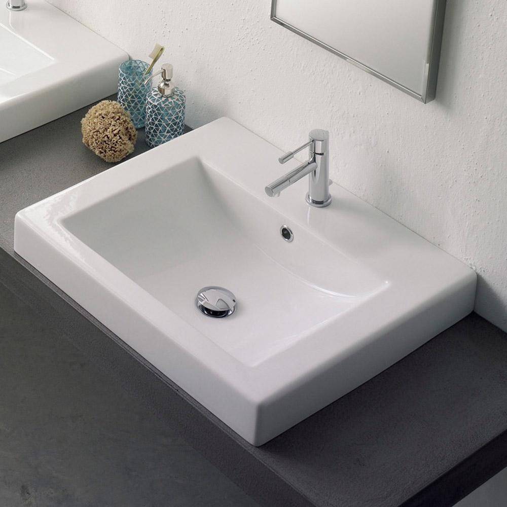 Drop In Rectangular Bathroom Sink