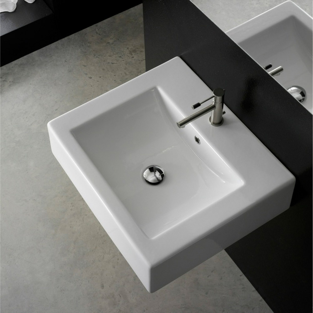 Home / BATH / Bathroom Sinks / Square Wall Mounted Sink