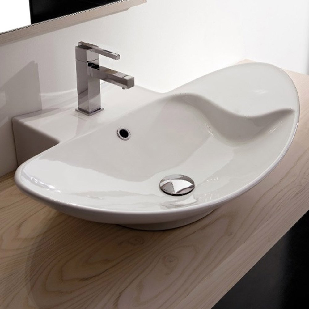 Home / BATH / Bathroom Sinks / Zefiro Oblong Sink