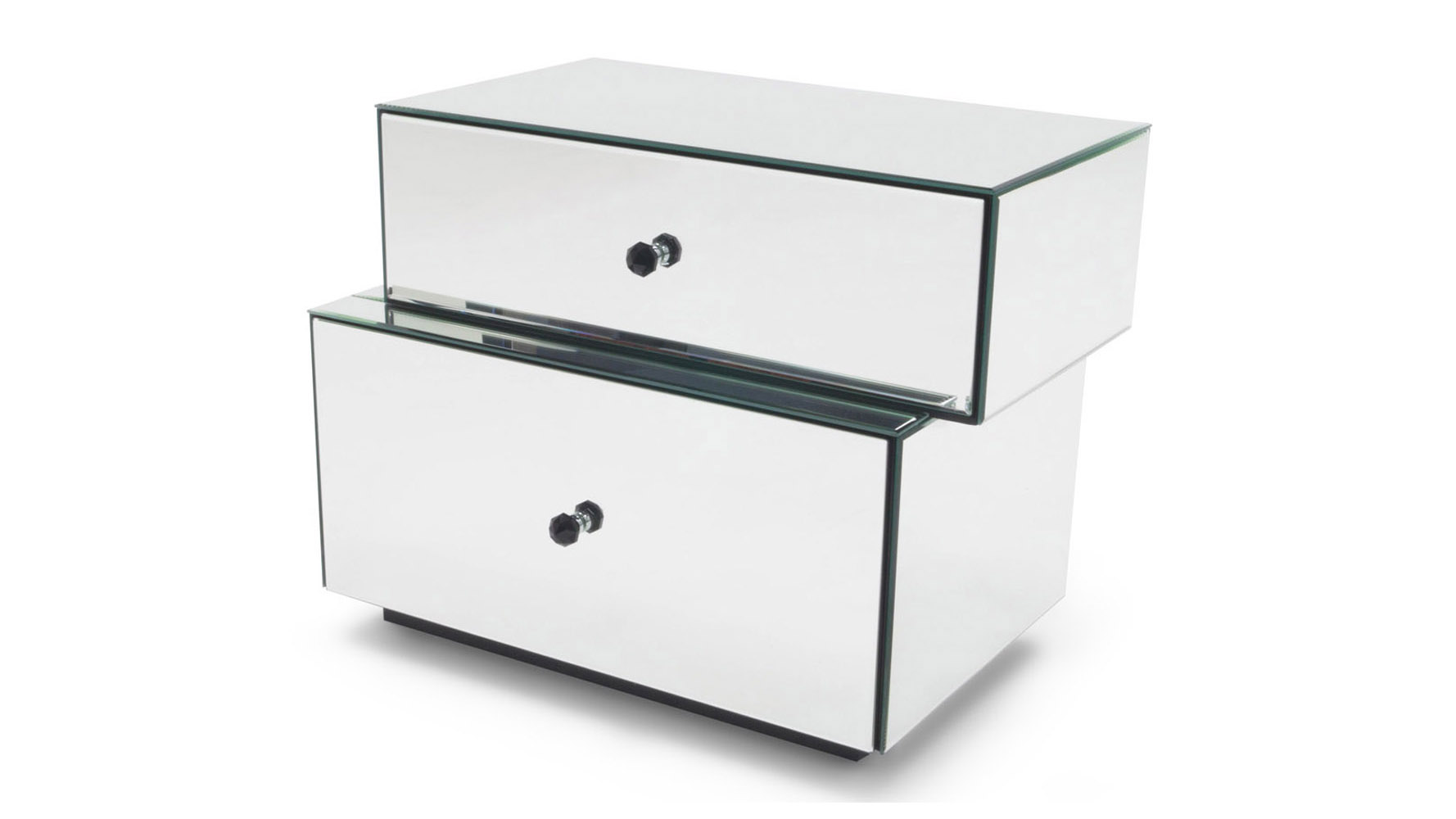 Tada Mirrored Accent Table