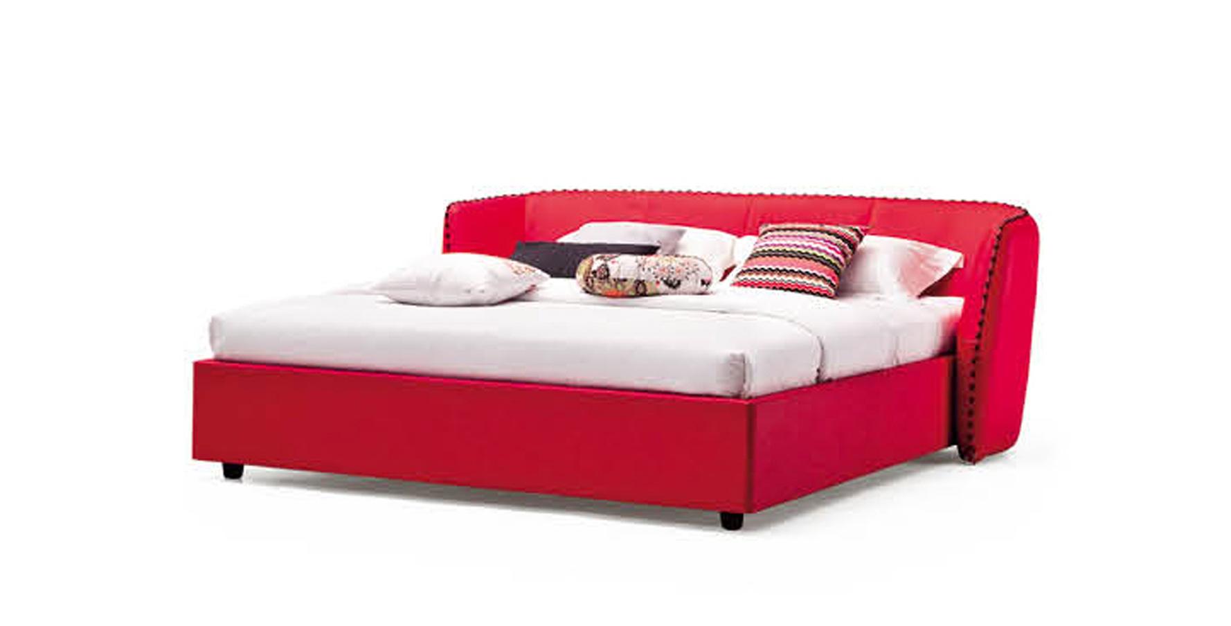 Red Platform Bed 28 Images Aven Modern Red Leather