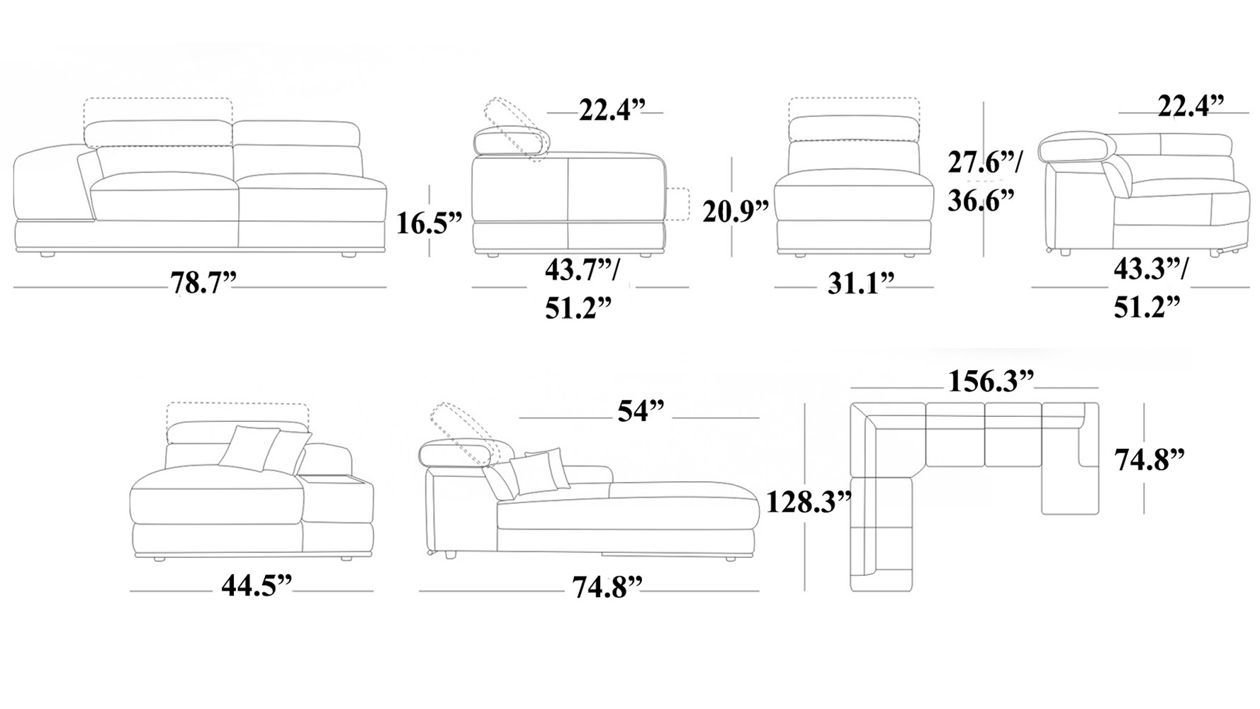 dimensions of sectional sofa sectional sofa dimensions 31