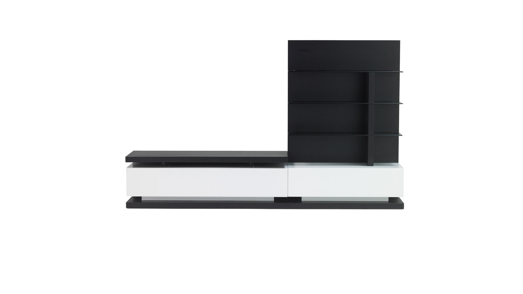 Wynton Espresso Contemporary Tv Stand For 55 Inch Tv Zuri Furniture
