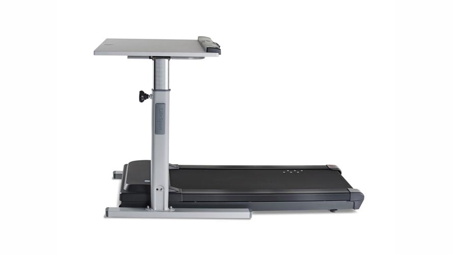 Modern LifeSpan Manual Height Adjustable Treadmill Desk
