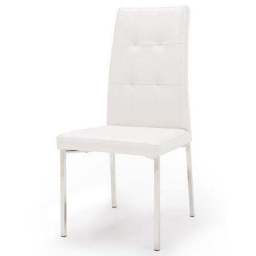charlotte dining chair white