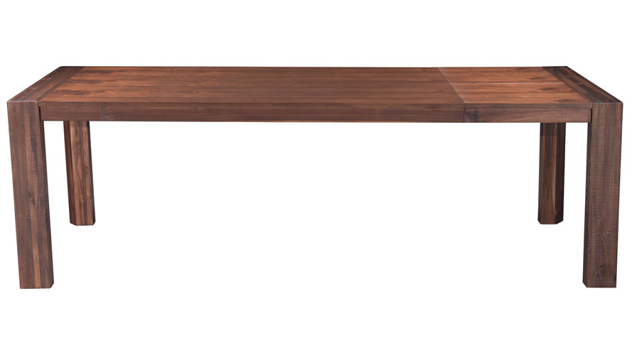 Union rustic kourtney sustainable live edge acacia coffee table