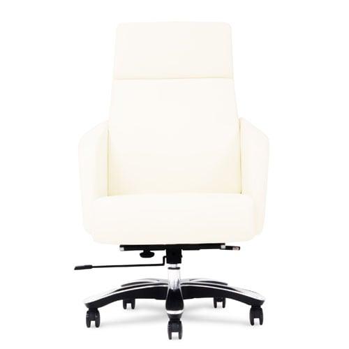 Lauren Leather Executive Chair   Cream