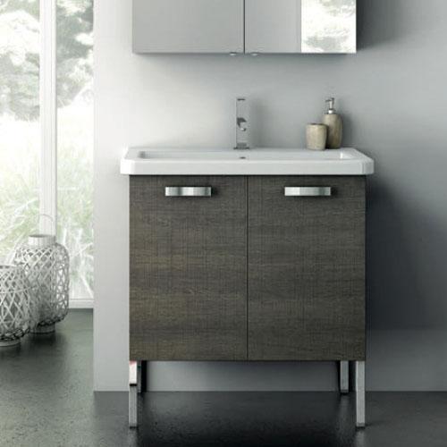 Modern 30 Inch City Play Vanity Set With Ceramic Sink