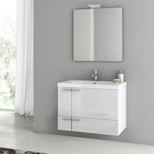 31 inch bathroom vanity with sink modern 31 inch bathroom vanity set with ceramic sink 24762