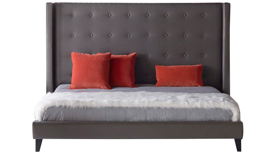 Modena Bed Pebble Zuri Furniture