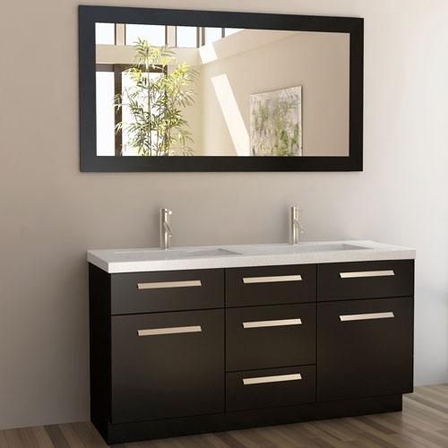 60 in double sink vanity.  Rissa 60 Double Sink Vanity Set Zuri Furniture