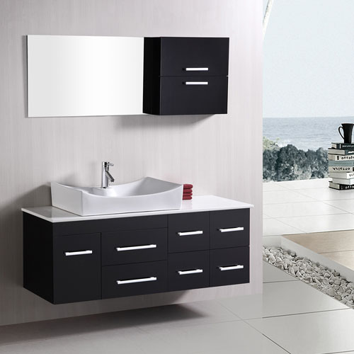 Spencer 53 Quot Single Sink Vanity Set Zuri Furniture