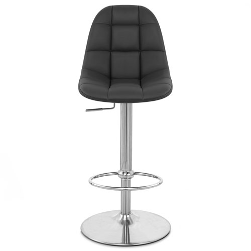 sc 1 st  Zuri Furniture & Rochelle Adjustable Height Swivel Armless Bar Stool | Zuri Furniture islam-shia.org