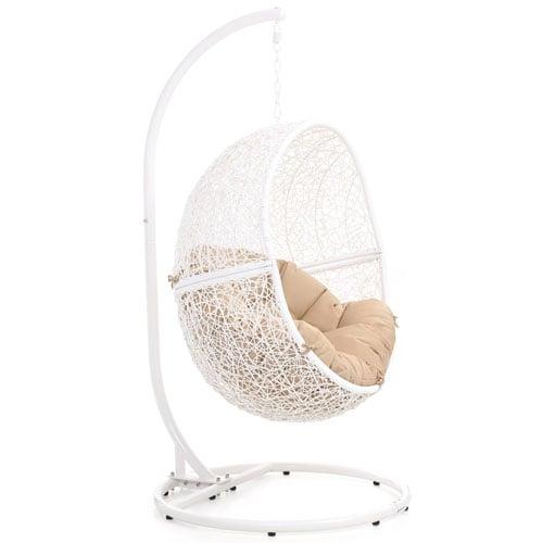 Superieur Shore Swing Chair   White