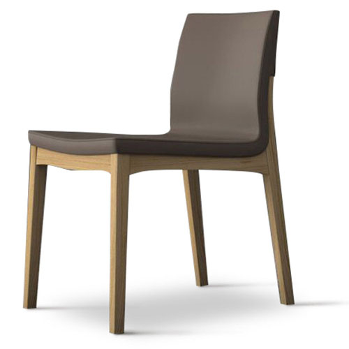 natural wood dining chairs rustic wood trasimeno eco leather and wood dining chair set of 2 dove gray on natural oak zuri furniture