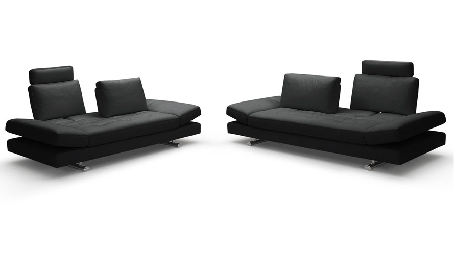 Bentley Leather Sofa and Loveseat Set. Modern Sofas   Contemporary Sofas   Modern Living Room Furniture