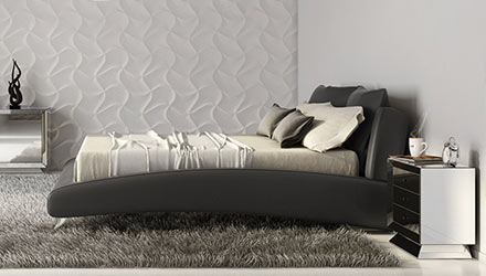 Contemporary & Modern Bedroom Furniture : Bedroom Furniture | Zuri ...