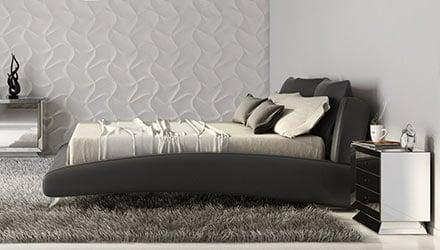 Contemporary & Modern Bedroom Furniture : Bedroom Furniture | Zuri ...