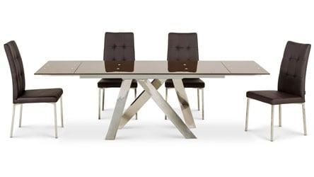 Cruz Dining Set   6 Chairs