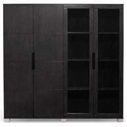 hayes storage unit black oak