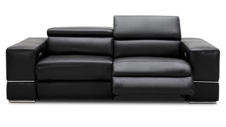 Luxor Reclining Sofa With Power Headrest Zuri Furniture