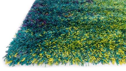 Constellation Peacock Shag Rug Zuri Furniture