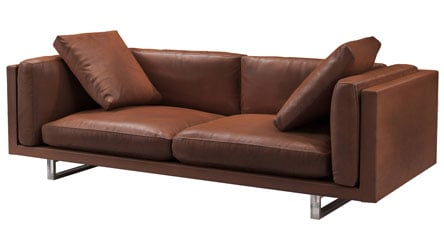 Jacy Leather Sofa