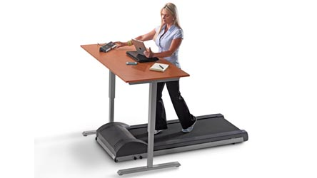 Modern Office Lifespan Treadmill With Bluetooth Console 70