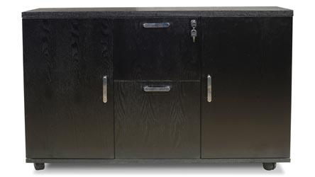 black wood office furniture desks bookcases modern office
