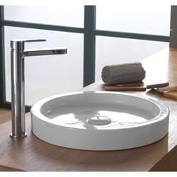 bucket selfrimming sink
