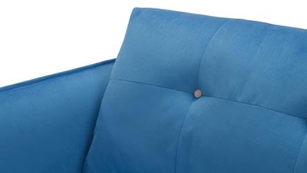 Skyler 2 3 Blue Fabric Sofa Set Zuri Furniture